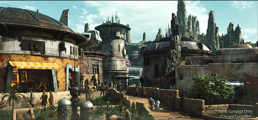 Black Spire Outpost inside Star Wars: Galaxy's Edge