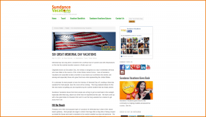 Sundance Vacations Travel Blog