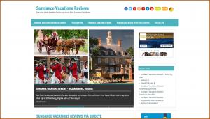 sundance vacations reviews site screenshot for News Site