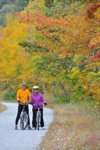 Sundance Vacations Fall Foliage Bike Ride3