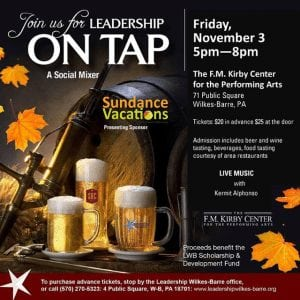 Sundance vacations leadership on tap sponsor