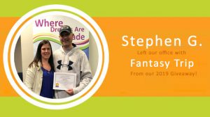 Stephen G. Fantasy Trip sundance-vacations-sweepstakes-giveaway-box